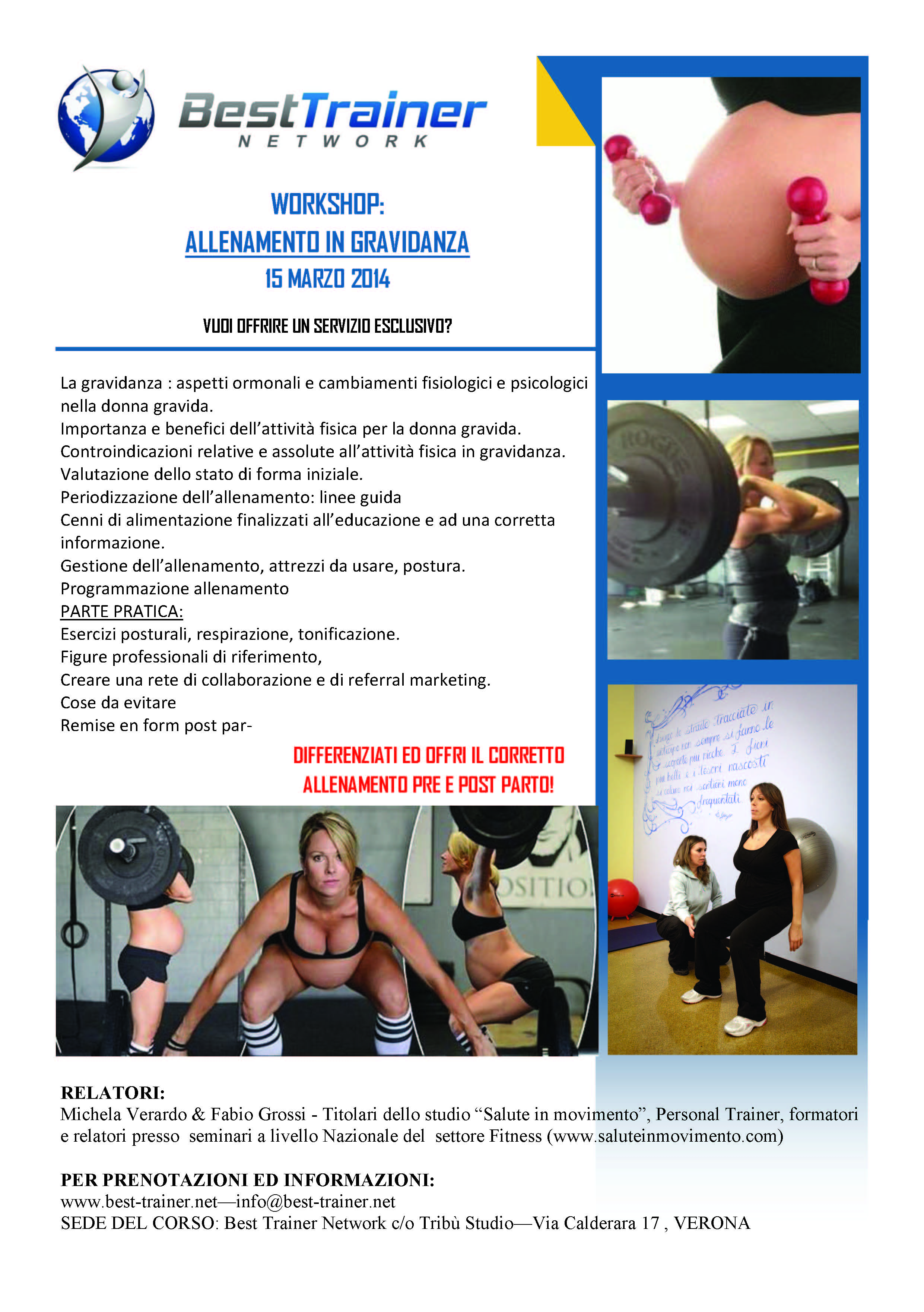 locandina allenamento in gravidanza jpg