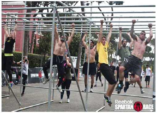 Monkey Bar Spartan Race