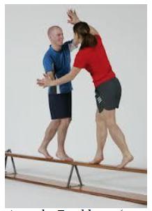 Asse di Equilibrio (ottima per migliorare l'equilibrio dinamico e quello statico nel mantenimento delle posture)
